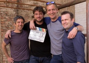 Jens Harant (Kamera), Ronald Zehrfeld, Lars Kraume (Regie), Raoul Reinert (Produzent) - 2014 ZDF/Bavaria/CCE - Julia von Vietinghoff